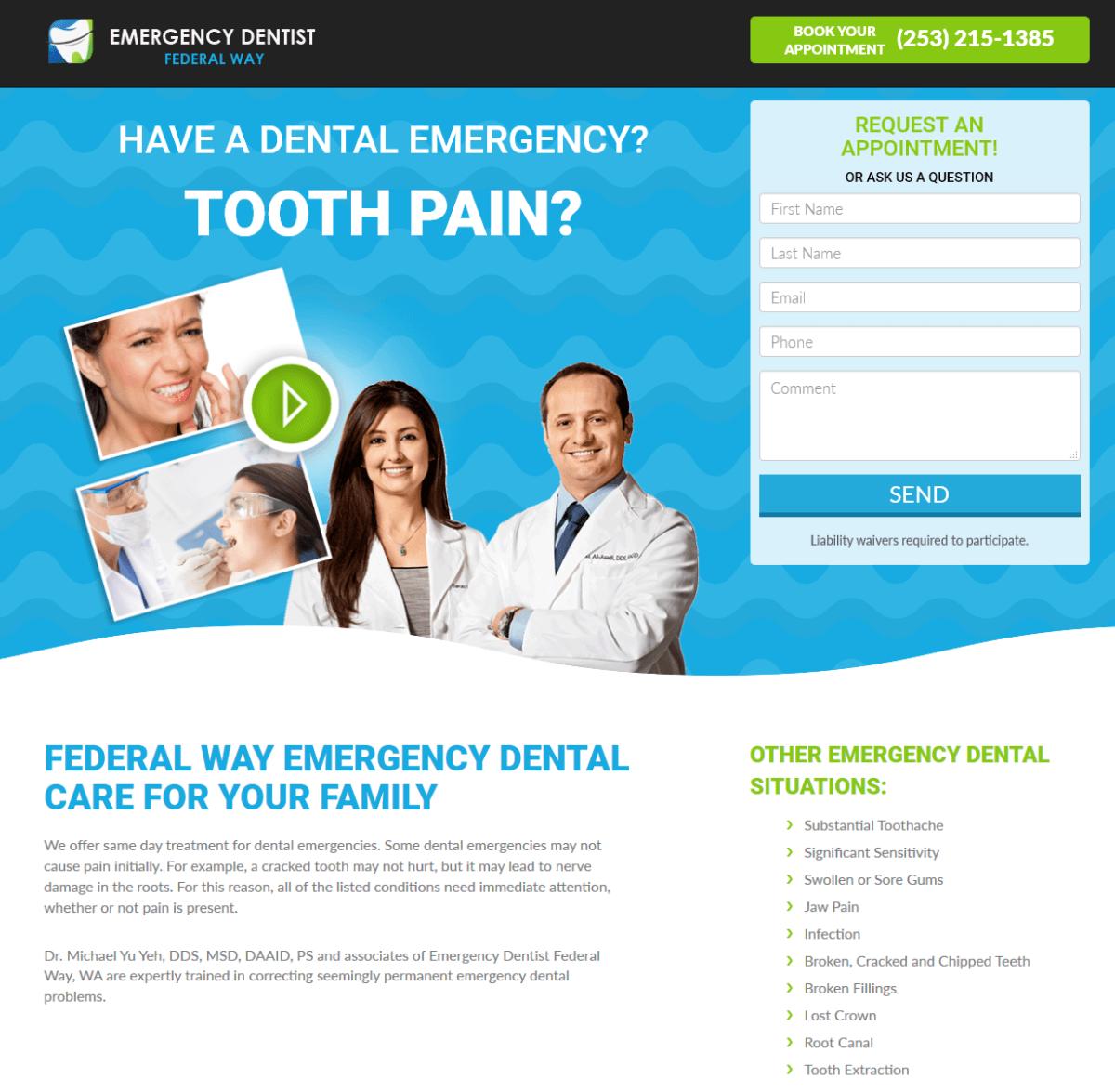 Emergency Dentist Marketing