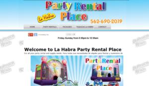 party rentals in la habra ca