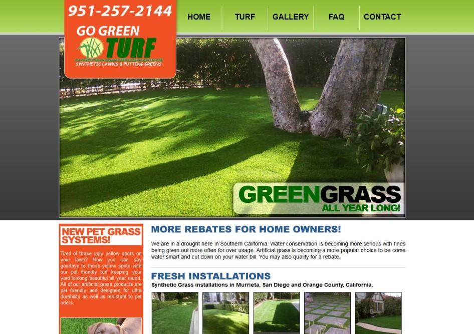 Artificial Grass Website